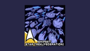 Cheek's Custom Shipsets: Star Trek [Federation]
