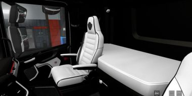 Black & White Interior для Scania Next Gen 2016 S&R 1