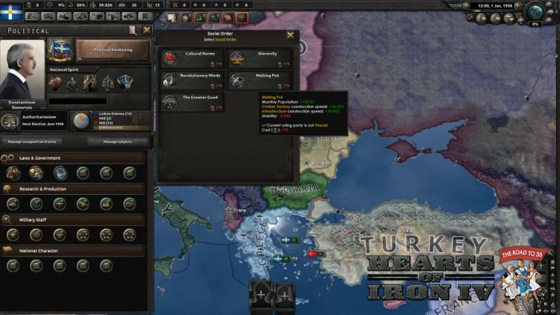 Download mod «The Road to 56» for Hearts of Iron 4 (1.9.3)