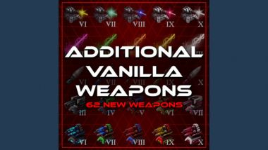 Additional Vanilla Weapons