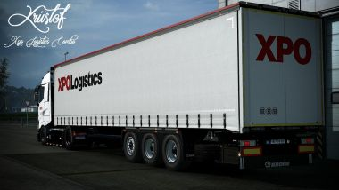 XPO Logistics for Renault T Range and Krone trailer 0