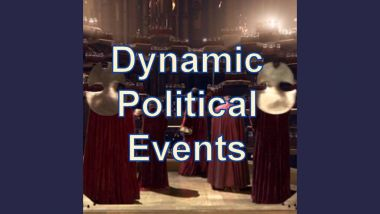 Dynamic Political Events