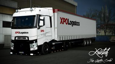 XPO Logistics for Renault T Range and Krone trailer