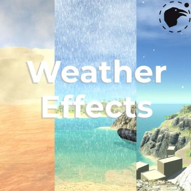 Weather Effects (Clouds, rain, sandstorm)