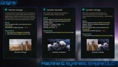 Unofficial Machine & Synthetic Empire DLC 8