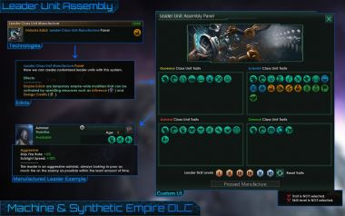 Unofficial Machine & Synthetic Empire DLC 4