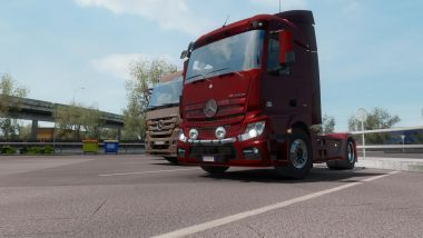 Mercedes-Benz Actros MP4 fix