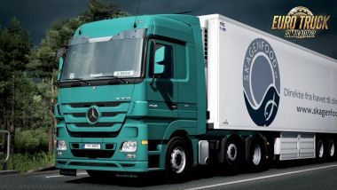 Cabin sounds for Mercedes Actros MP3