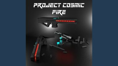 Project Cosmic Fire Weapons Pack