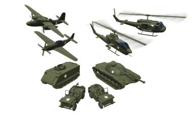 Plastic Army Men (Skins, Weapons, Vehicles) 1