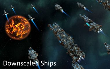 Downscaled Ships