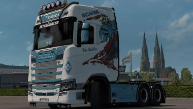 Griffin for Scania S 2016 Next Gen