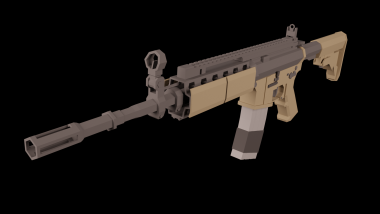 MW2 M4A1 (Beta-branch required) 0