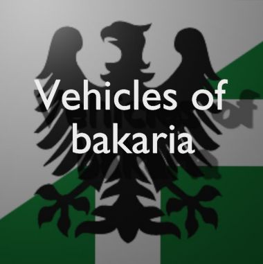 Vehicles of the Bakarian Armoured Infantry