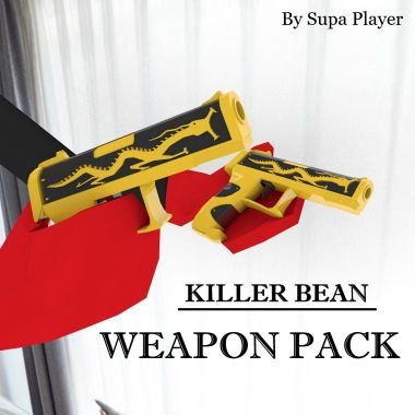 Killer Bean Weapon Pack
