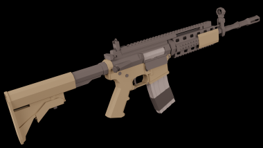 MW2 M4A1 (Beta-branch required) 1